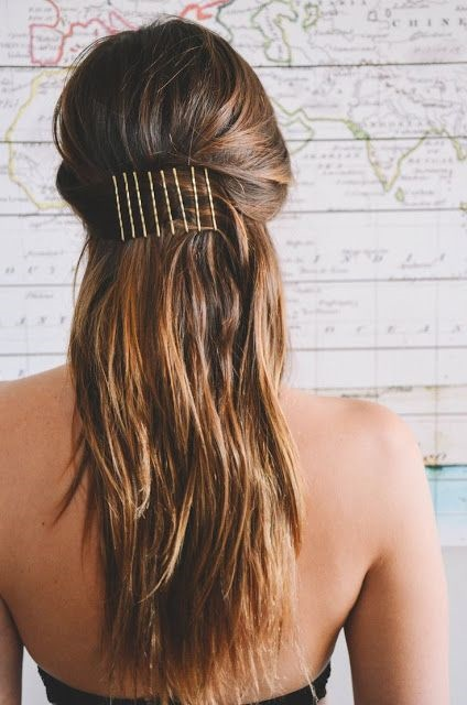 Cute Hairstyles You Will Be Able To Get In 20 Seconds 1