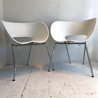 Vitra Tom Vac Chair Pair #1