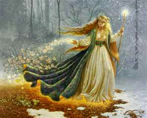 Ostara Ritual Basket Of Eostre
