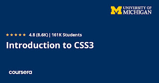 best CSS 3 course on Coursera