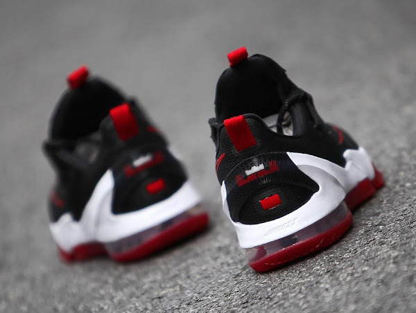 Nike LeBron 13 Low Black  Red  Release Date