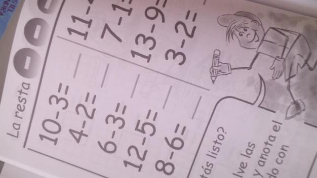 Maia y los números