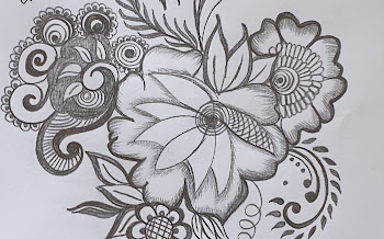 4 Flowers tattoo design