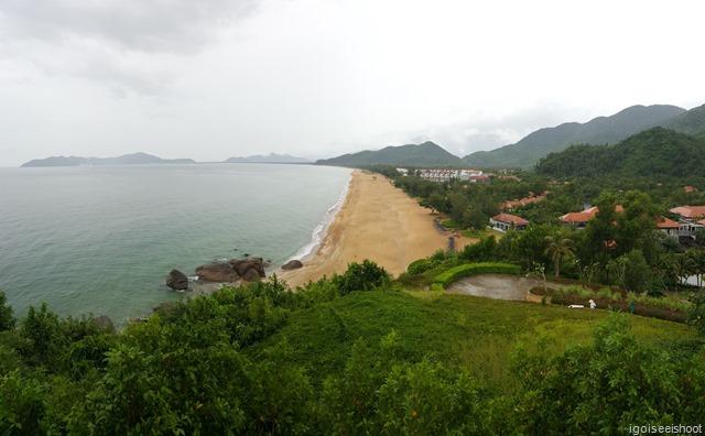 View from Saffron Restaurant, Banyan Tree Lang Co.