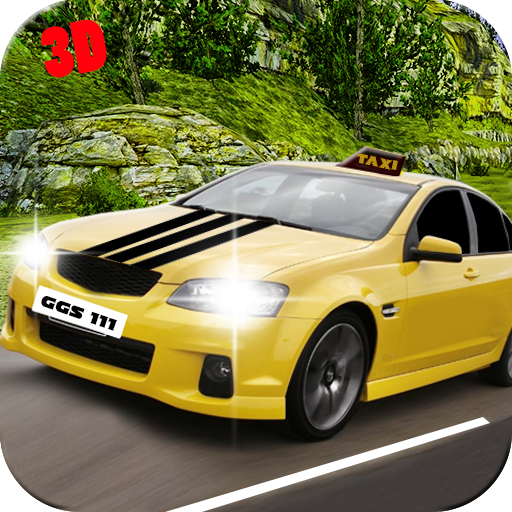 Off Road Tourist Hill Taxi Driver Sim: Crazy Drive