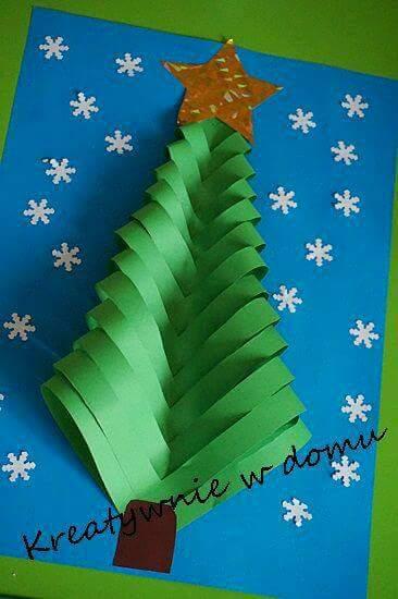 ms y ms manualidades Fciles adornos navideos de papel para los