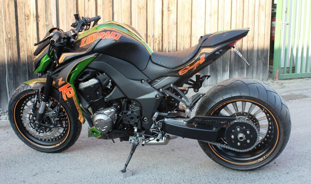 Kawasaki Z1000 Streetfighter by RF Biketech