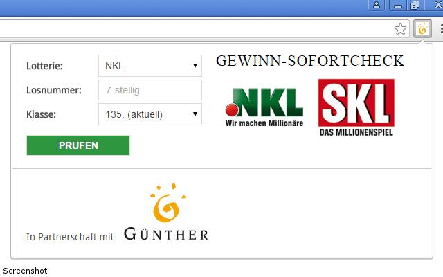 NKL & SKL Gewinn-Sofortcheck