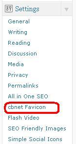 Pasang Favicon di Wordpress