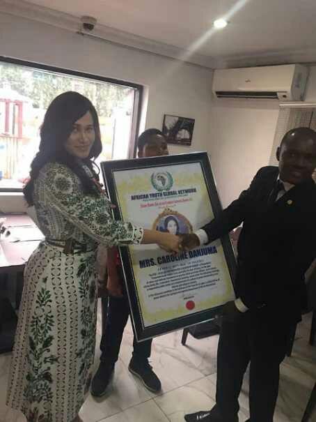 Caroline Danjuma Wins 2017 Nelson Mandela Pan-African Award (Photos)