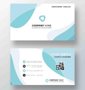 Membuat Kartu Nama Cocok untuk Perusahaan Kacamata | Templates Design Gratis