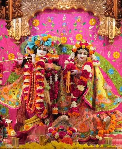 ISKCON Vallabh vidhyanagar Deity Darshan 16 jan 2017 (14)