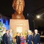 Develación del busto a Fernando Belaunde Terry