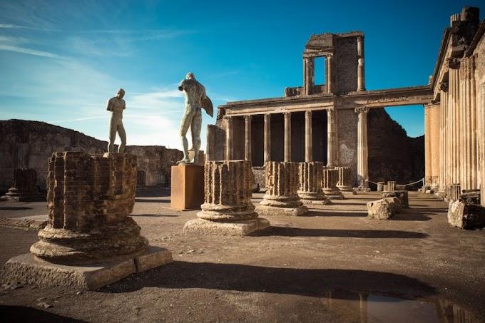 Πομπηία: Στο «φως» τα λείψανα δύο ανδρών - Ο πλούσιος και ο σκλάβος μαζί
