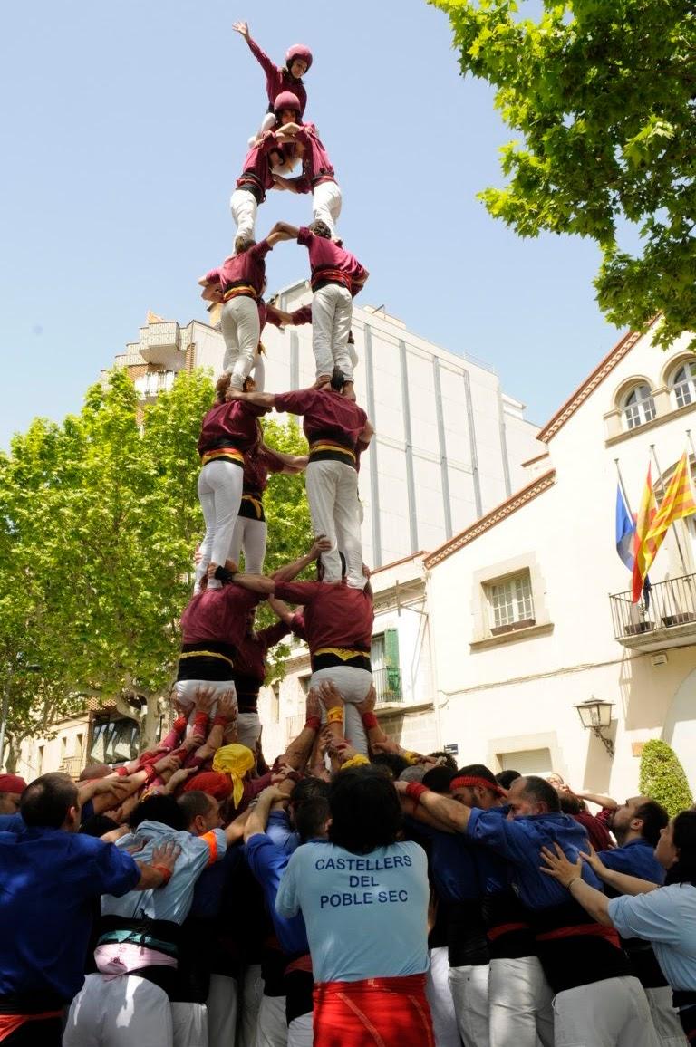 Actuació de Sant Jordi (Esplugues de Llobregat)  22-04-2018 - _DSC1118_ castellers .JPG
