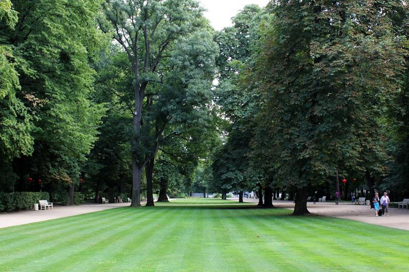 El Parque Łazienki