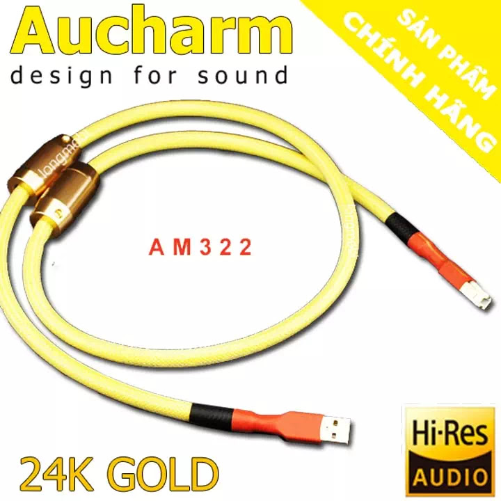 dây usb audio dac aucharm am322