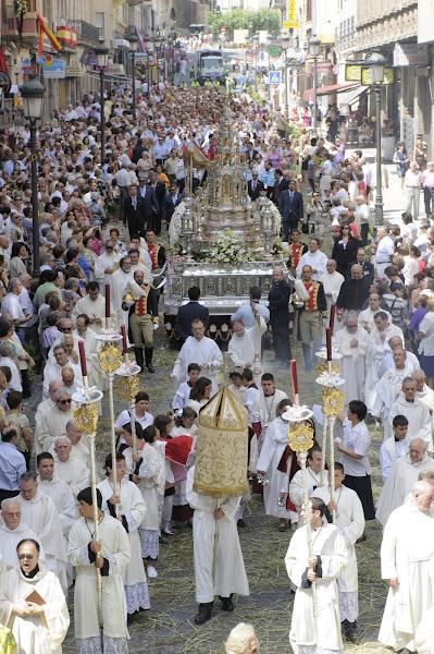Horario de Misas en el Corpus