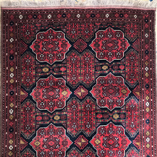 Wool Tribal Medallion Area Rug