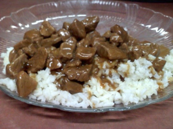 Lisa's Beef Tips With Rice Recipe