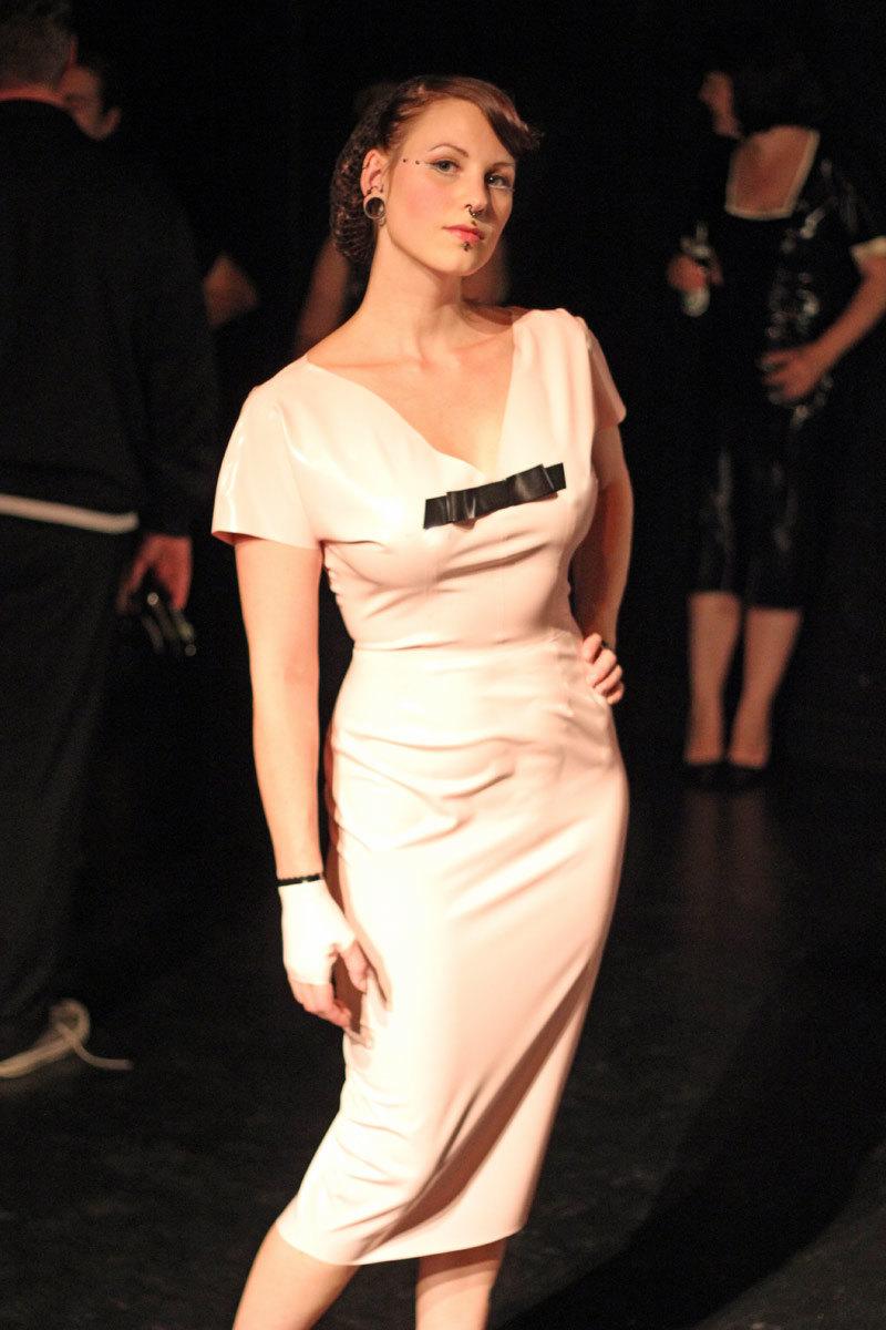 Catie S Blog Latex Wedding Dress