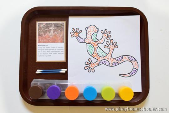 Aboriginal Art Coloring