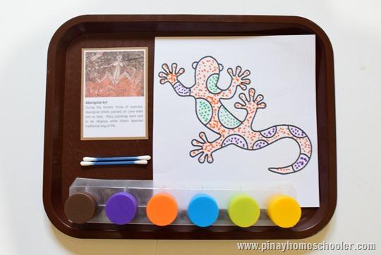 Aboriginal Art Coloring