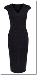 Karen Millen tailored textured dress