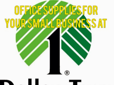 Setting up your Small Business Office on a Budget from Dollar Tree