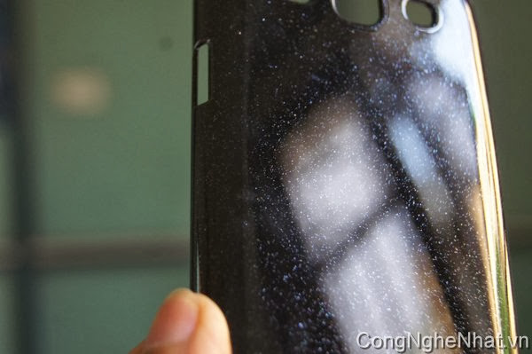 Ốp lưng Galaxy S3 (SC-06D) Cứng ánh kim tuyến