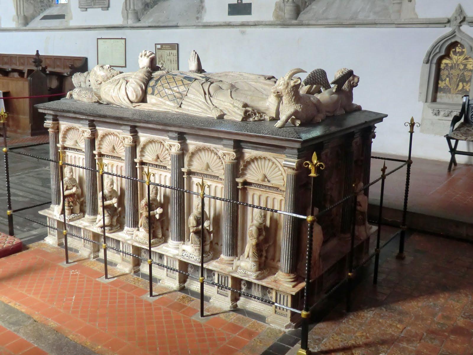 CIMG1928 Brooke Tomb, Cobham church