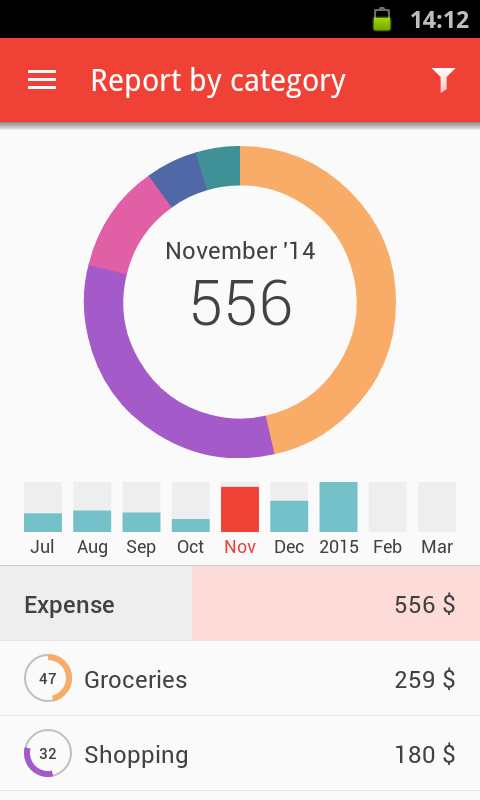 Zenmoney: expense tracker- screenshot
