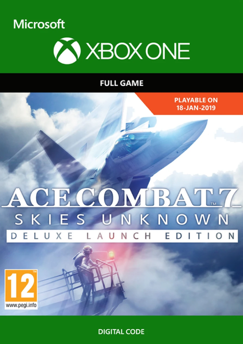 Ace Combat 7 - Skies Unknown Deluxe Launch Edition (2019)