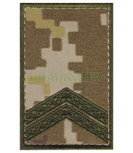 Погон ДПС Молодший сержант /тк. NDU/ 70х45мм