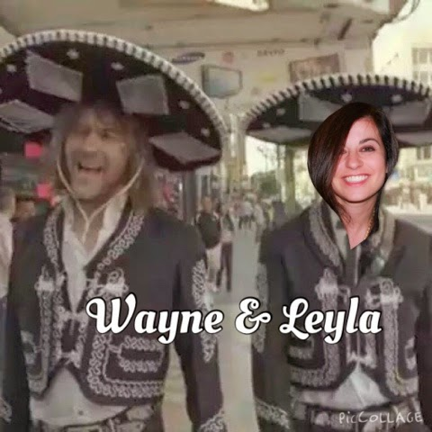 Wayne and Leyla