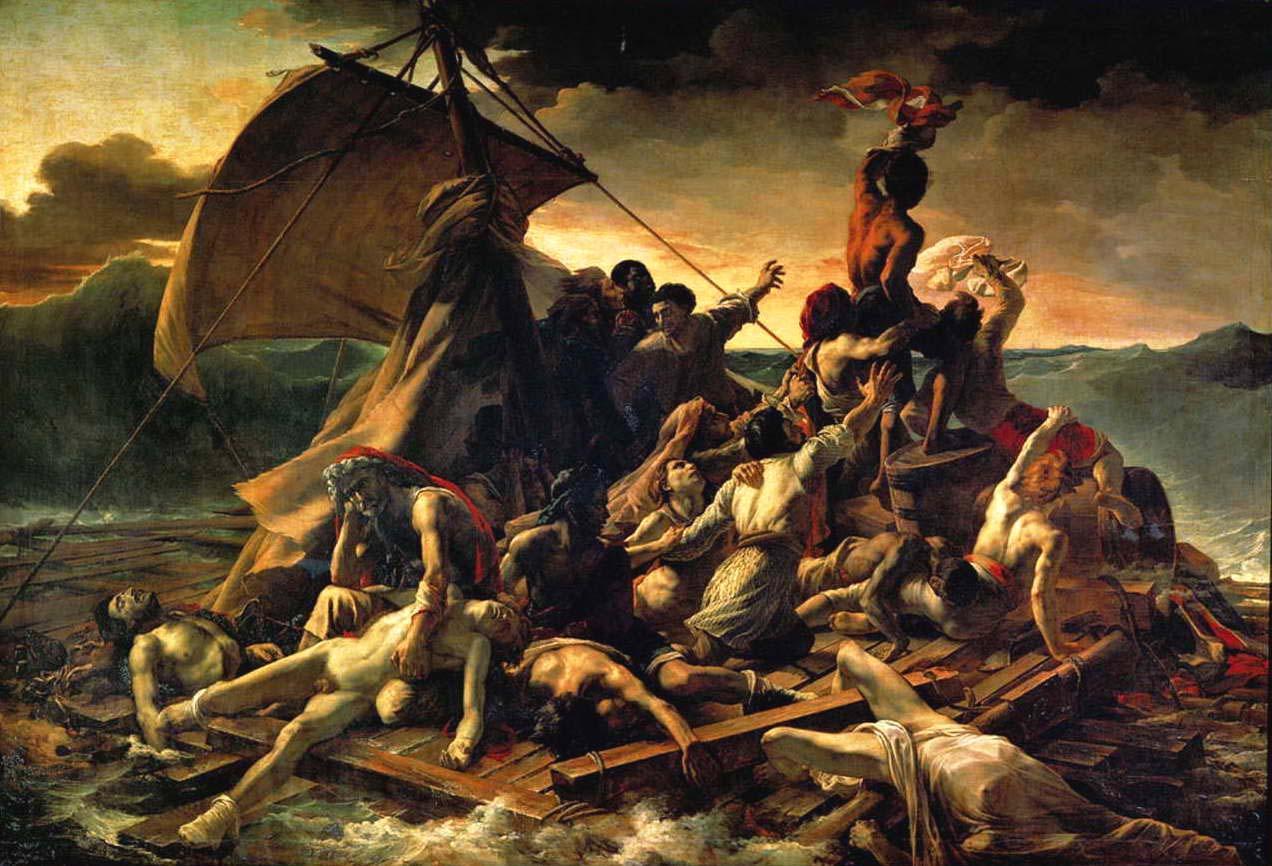 The Raft of Medusa Louvre