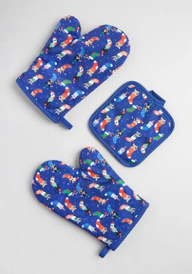 Cookies for Santa Pot Holders Gift Set