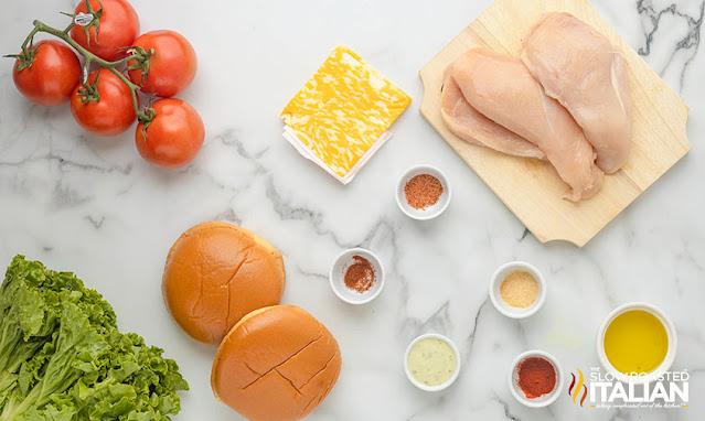 chick fil a spicy chicken sandwich ingredients