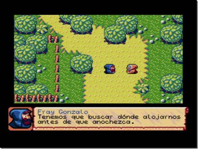Brunilda MSX 2 Escenario