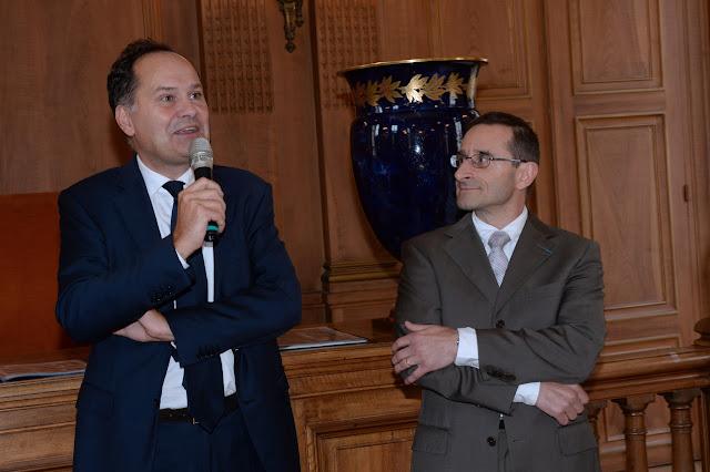 Mairie de Sèvres - Remise de médaille d'or à Christophe Chaboud