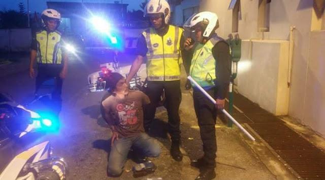 Lelaki Gilo Sudah Ditangkap Polis Kota Bharu