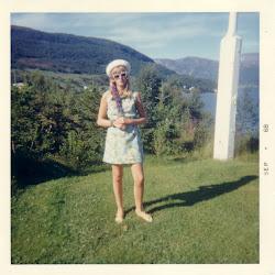 Jeg sommeren 68 i Foldvik