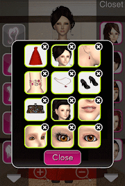 Click to Enlarge - Style Me Girl Level 56 - Yacht Party - Victoria - Closet
