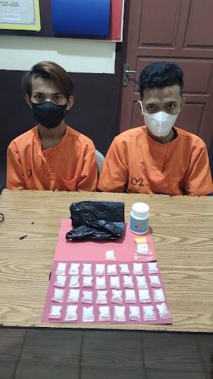 Bekuk 5 Pelaku, Polres Inhil Berhasil Ungkap Sindikat Narkotika Antar Kabupaten