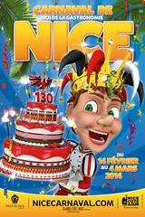 Carnaval de Nice affiche 2014