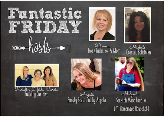 Funtastic Friday 02.19.2021. Stop by and say hello! Check out the great links to visit @ Scratch Made Food! & DIY Homemade Household.