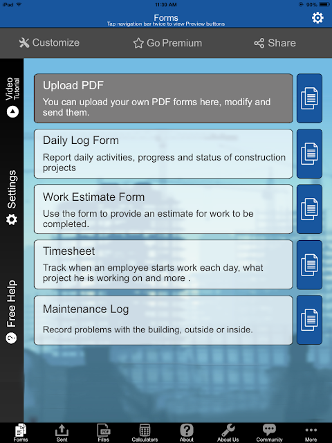Snappii® Construction Manager App