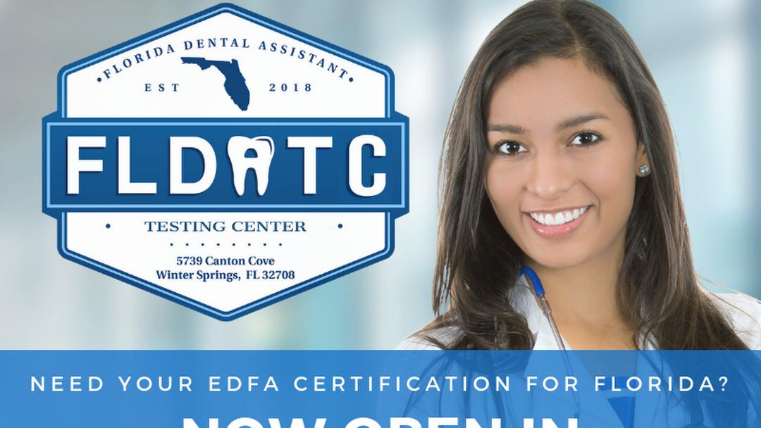 Florida Dental Assistant Testing Center Efda Testing Center In