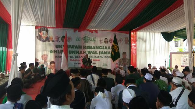 NU Kabupaten Bogor Halal Bihalal Perkuat Ukhuwah Kebangsaan