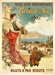 Carnaval de Nice affiche 1902